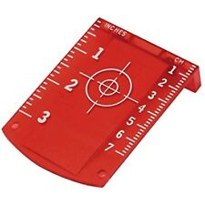 Target Card Plate Red Laser Level