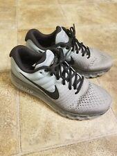Nike Air Max 2017 Tumbled Grey BlackStealth  Size 9 [849559  003] Running men