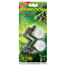 Exo Terra Spray Nozzel 2er for Monsoon RS400, NEW