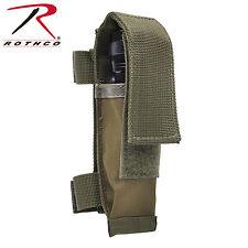 Rothco 40066 MOLLE Compatible Knife / Flashlight Sheath - Olive Drab