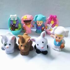 8x Fisher Price Little People Zoo Farm Rabbit Bunny Pet Animal toy figure HA97F