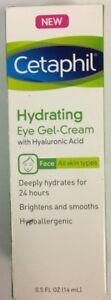 Cetaphil Hydrating Eye-Gel Cream with Hyaluronic Acid - 0.5 oz