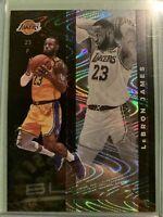 2019-20 Panini Black LeBron James Silver Parallel #57/65 Lakers SP 🔥👀*NICE*👀