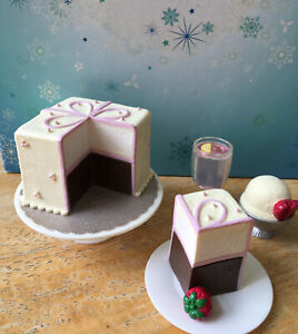 American Girl Doll Cake, Slice Of Cake, Ice Cream Sunday & Lemonade Retired