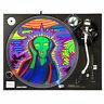 "Psychedelic Scream - DJ Turntable Slipmat 12"" LP Vinyl Record Slip Mat"