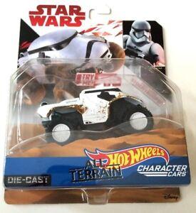 Hot Wheels Star Wars The Last Jedi All Terrain First Order Stormtrooper - NEW
