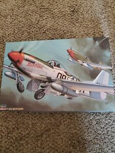 P-51 D MUSTANG MAN O' WAR (USAAF MKGS) #08055 1/32 HASEGAWA Open Box