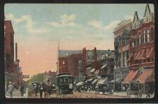 Postcard ALLIANCE Ohio/OH  Koch Men Clothing Store & Business Storefronts 1907
