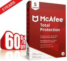 McAfee Total Protection 2019 5 Years 5 Device WINDOWS instant delivery