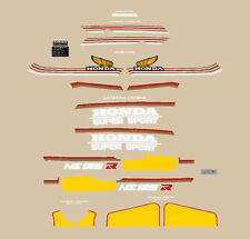 HONDA NS 125 R SUPER SPORT SERIE  ADESIVI STICKERS
