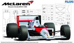 1:20 Scale Fujimi Mclaren MP4/5 1989 Model Kit #