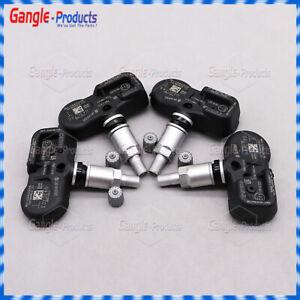 4x 40700-EZ00A TPMS Sensors Tire Pressure Monitor Sensor for 16-20 Nissan Titan