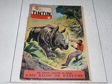 TINTIN 03/03 1955 N°332 HERGE AFFAIRE TOURNESOL DAN COOPER WEINBERG
