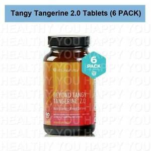 Beyond Tangy Tangerine Tablets 2.0 (6 PACK) Youngevity BTT