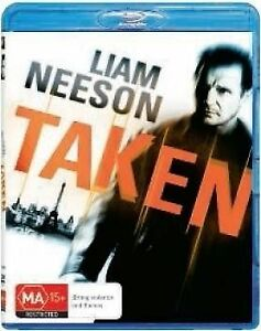 Taken (Blu-ray, 2009)*Liam Neeson*Terrific Condition*