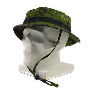 Genuine Danish Army Boonie hat Military M84 Flecktarn Camo jungle summer cap