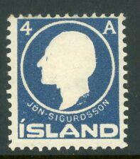 Iceland 1911 Jon Sjourdsson 4A Scott 88 Mint K700
