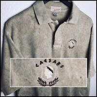 Caesar's Palace Las Vegas Casino 🎰 USA Vintage Polo Shirt Men's L 100% Cotton