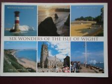 POSTCARD ISLE OF WIGHT SIX WONDERS MULTI VIEW