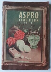 ASPRO YEARBOOK VINTAGE 1940 Australia Medical Family Health Horse Racing Section
