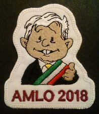 AMLO-Andres Manuel Lopez Obrador-Patch- Iron on- Sew on- Juntos Haremos Historia