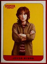 Stranger Things - Season One - Sticker Card #01 - Topps 2018 - Winona Ryder