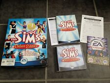 The Sims Deluxe Edition - Big Box PC - Vintage