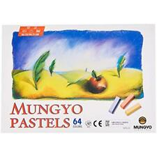 Mungyo Non Toxic Square Soft Pastel Chalk 64 Pack Assorted Colors Drawing Artist