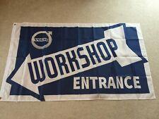 Volvo Amazon T5 240 260 XC90 trucks workshop entrance flag banner