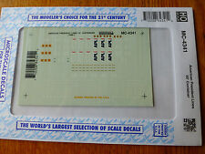 Microscale Decal HO  #MC-4341 APL Container - 53' Dates:1998+