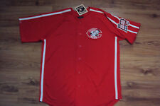CINCINNATI REDS NEW MLB MAJESTIC CROSSTOWN RIVALRY COOPERSTOWN JERSEY