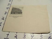 Vintage Travel Paper: HOTEL SOCIETETSHUSET ENVELOPE FINLAND