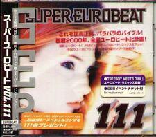 Super Eurobeat Vol.111 - Japan CD - NEW DAVE RODGERS LOLITA KASANOVA ARENA 69