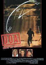 D.O.A. DEAD ON ARRIVAL VHS