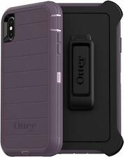 OtterBox Defender Series Rugged Case & Holster for iPhone XS MAX - Purple Nebula