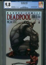 Deadpool 66 CGC 9.8 Rhino Black Swan Alvin Lee Uncanny X-Force X-Men New Mutant
