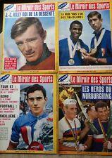 LE MIROIR DES SPORTS lot de 4 Numéros 1144 1146 1147 1148 (1966)