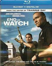 End of Watch (Blu-ray Disc, 2014, Includes Digital Copy UltraViolet)