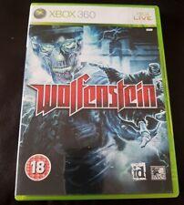 Xbox 360 Wolfenstein Game