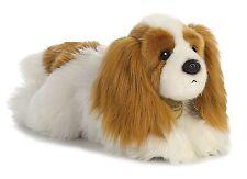 "New AURORA MIYONI Stuffed Plush Toy CAVALIER KING CHARLES SPANIEL Puppy Dog 11"""