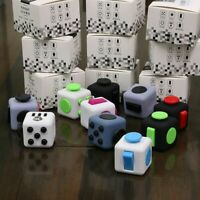 Cube Toy Anxiety Stress Relief Focus 6-side Calm Funny Finger Kids Gifts