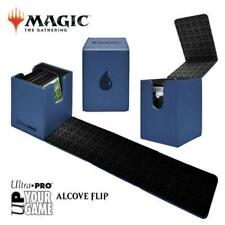 MAGIC ALCOVE FLIP DECK BOX BLUE with Water Drop