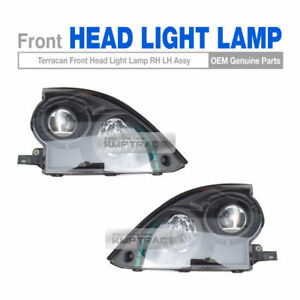 OEM Front Black Head Light Lamp Assembly LH RH for HYUNDAI 2001 - 2006 Terracan