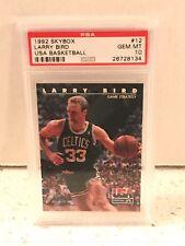 1992 Skybox #12 - LARRY BIRD - USA Basketball - PSA 10 Gem Mint - Boston CELTICS