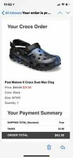 POST MALONE X CROCS SIZE 7 MENS