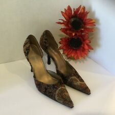 Highlight Ladies Shoes size 7 Store sample Slip On Stilettos Pointy Toe
