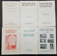Collection of 6 Channel Island Postal History Pamplets by William Newport