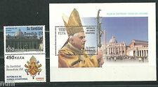 Equatorial GUINEA ECUATORIAL Edifil # 368/370 ** MNH Papa Benedicto XVI