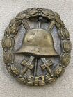 WW 1 German Cut Out Gold Wound Badge