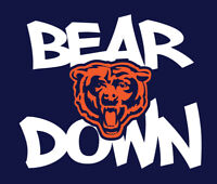 BEAR DOWN Chicago Bears shirt Dahn Justin Fields Allen Robinson no more Trubisky